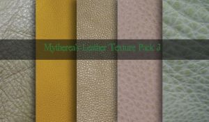 Leather Texture Pack 3 by Mytherea