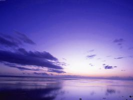 Blue sunset by nprimadina