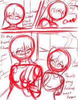 Ch 1 pg 2 Hey There WIP by chaosphoniex