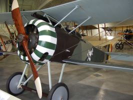 hanriot hd1 ww1 fighter by Sceptre63