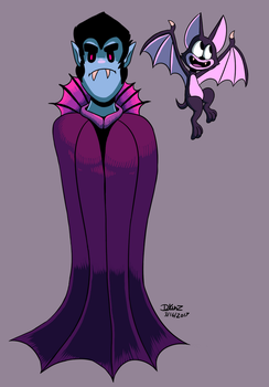 Dracula by megadrivesonic