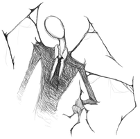 Slenderman reaches by PedSquared