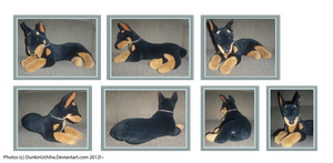 .: Doberman Plush :. by BeachBumDunkin