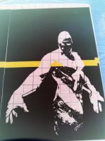 Starman inverted ITW by Stencils-by-Chase