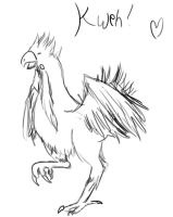 Chocobo Sketchy~ :D by Chronic-Shadow