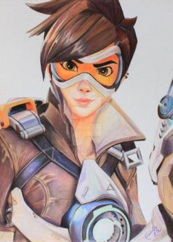 Tracer from Overwatch by RachelRie