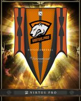 TI5 Banner - 10 - Virtus Pro by goldenhearted