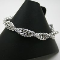 BA Spiral Chainmail Bracelet by Utopia-Armoury