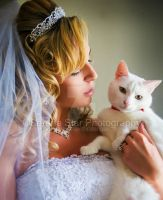 Kitty and the Bride by OfficialSerenaStar