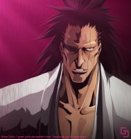 I AM THE KENPACHI by gran-jefe