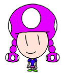 Hey long time no see Toadette by AsahiGirl