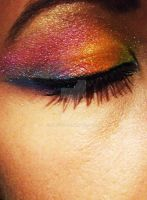Rainbow Eyeshadow by Kan3xO