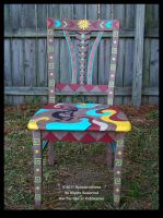 SW Memories Chair - Fanback Front View by ReincarnationsDotCom