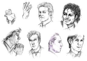 People Sketches by Atarial