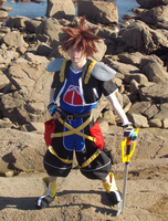 'Sticks and stones' - Sora Cosplay by DeadPhantoms