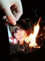 Burn, Bieber, Burn by MrAngryDog