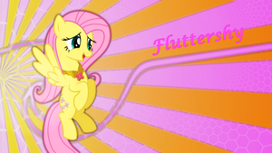 Fluttershy Wallpaper by Game-BeatX14