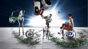 Portal 2 -Christmas- by Cloudi5