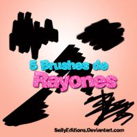 Brushes de Rayones by AboutHelpPhotoshop
