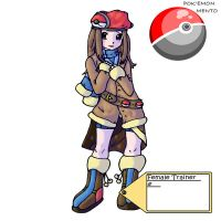 Female Trainer by Pokemon-Mento