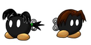 Jeb-Omb and Jaz-Omb by Heartless-Bowser