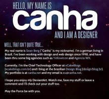 My deviantID by canha