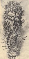 Tattoo design v.1 by kaj18