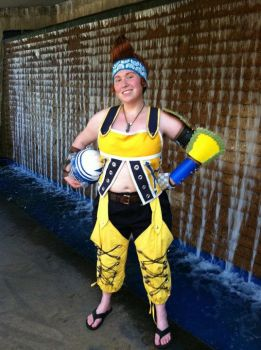 Wakka--Waterfall by angrygingermidget