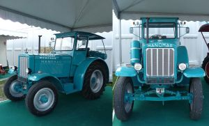 vintage tractor by two-ladies-stocks