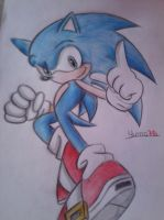 Sonic the Hedgehog by Yuma76