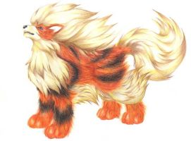 Gilmux's request - Arcanine by Gardi