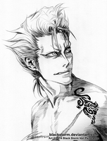 Grimmjow: Bastard... by blackstorm