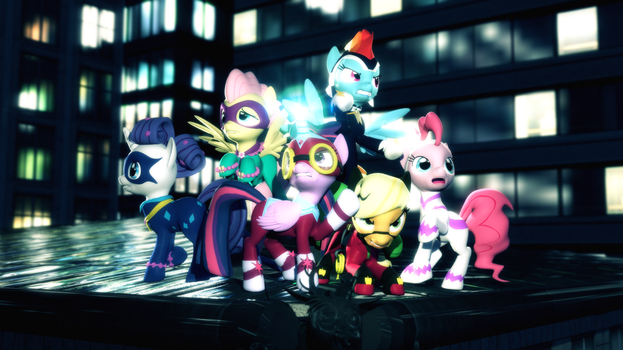 Power Ponies by Powdan