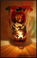 Halloween Candle Holder by Bonniemarie