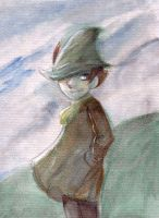 Snufkin by titanium-starfish