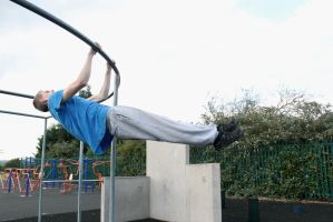 David - Front Lever I by Zade-uk