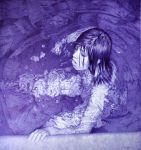Abstract - Ballpoint Pen Artwork by LopezLorenzana