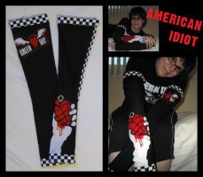 American Idiot Armwarmers by kelly42fox