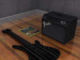 Guitar, amp and guide by tom55200