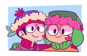 Flowa crowns by Dinzeeyz