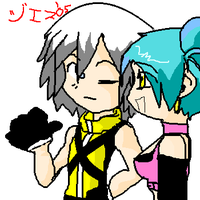 :Lucinda and Riku: by Jes-the-dragonfox