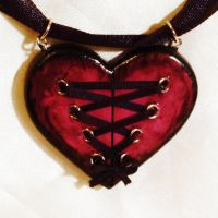 Corset heart series number 3 by wickedgems