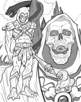 Skeletor by quibly