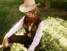 APH: I'm Your Huckleberry by Sugar-coated-Lime