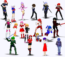 Mabi Characters 2 by FK-Central