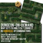 Dungeon-On-Demand Banner for DriveThruRPG.com by ladnamedfelix