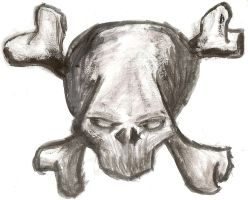 Skull N' Cross Bones by abolatinge