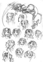 Aiko expression sheet thing by athies