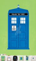 Doctor Who by J-MEDBURY