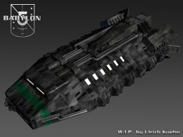 BABYLON-5 - Shuttle WIP-006 by ulimann644